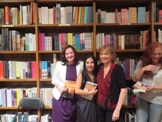 Lena Yau, Giovanna Rivero y María Juliana Villafañe.