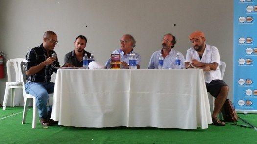 Carlos Fonseca, Fermín Goñi, Alfonso Mateo Segasta y Urayoán Noel.