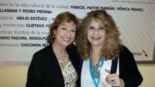 María Juliana Villafañe y Gioconda Belli