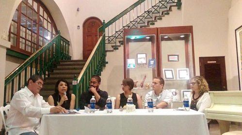 Moderador: Alfredo Torres Otero, Laura Niembro, Javier Hernández Mishad Orlandini,Samuel Medina y Neeltje Van Marissing