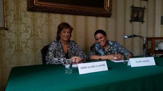 María Juliana Villafañe y Eliana Vázquez Colichón