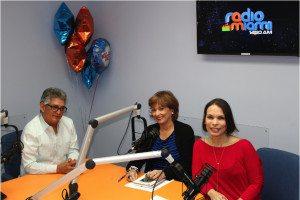 José Rijo Presbot, María Juliana Villafañe y Glenda Galán