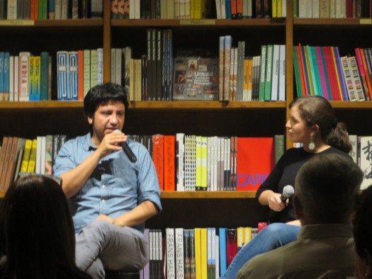 Alejandro Zambra y Eulimar Núñez