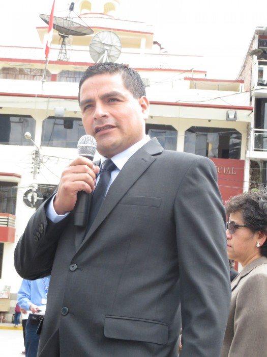 Alcalde Provincial Rafael Neftalí Ticlla