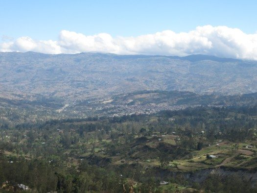 Vista de Chota