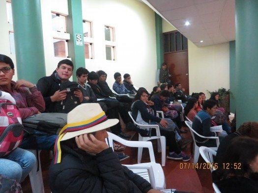 Estudiantes Chota