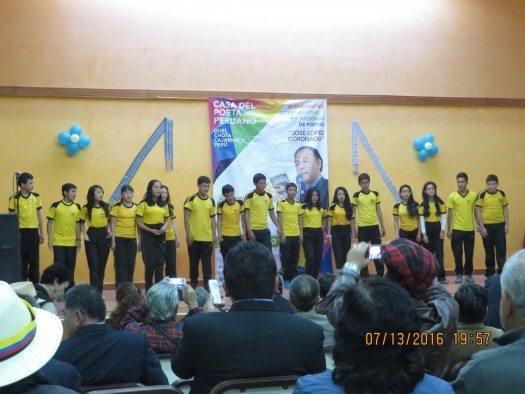 Estudiantes del Colegio Nacional de San Juan