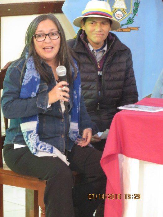 Miriam Caloretti y Manuel Teyper