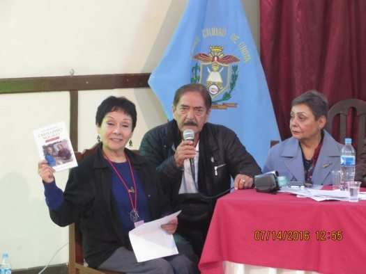 Lily cuadra, Santos Miranda Rojas y Kori Carrasco