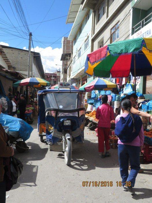 Plaza del Mercado de Chota