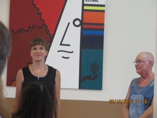 Maarja Kangro and Annelie Schnack