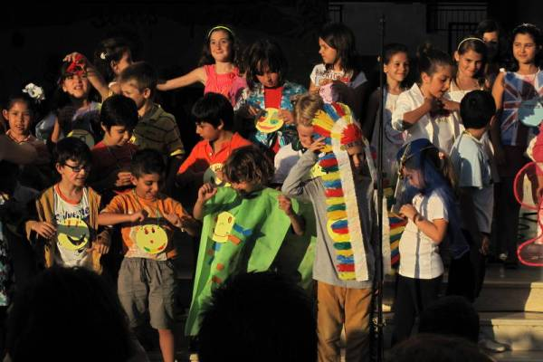 SEEH children at an end-of-year celebration