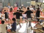 SEEH children doing a Cretan dance
