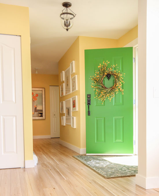 Tour My House Learn The 6 Best Ways To Transition Colour