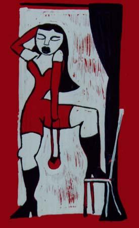 Puta Sobre silla - 2001 (100€)