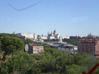 Vista de la Catedral de la Almudena
