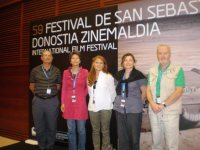 Miembros del Jurado SIGNIS 2011, en el Club de Prensa