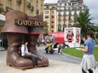 """La promo de """"El Gato con Botas"""", con Antonio Banderas como la voz"""