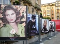 Preciosa exposición de fotos al lado del Reina Cristina