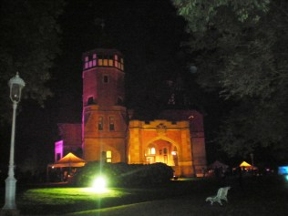 Palacio de Miramar, donde acabó la fiesta del cine con un espléndido coctel y música