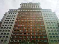 Edificio España, imponente