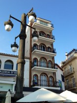 Edificio del Paseo marítimo en Sitges