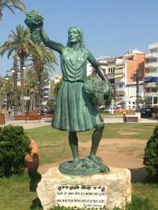 Escultura en Sitges