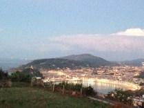 Vista desde el Monte Igueldo
