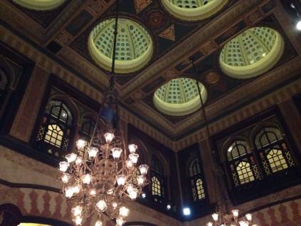 Cubierta del Hotel Pera Palace