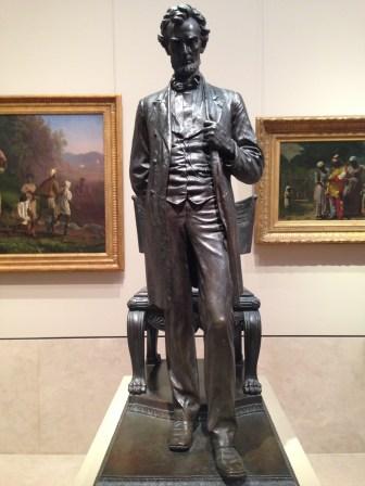 Abraham Linconl in the Metropolitan Museum