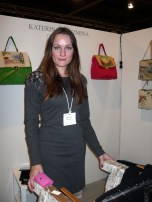 katerina with her new bag line
