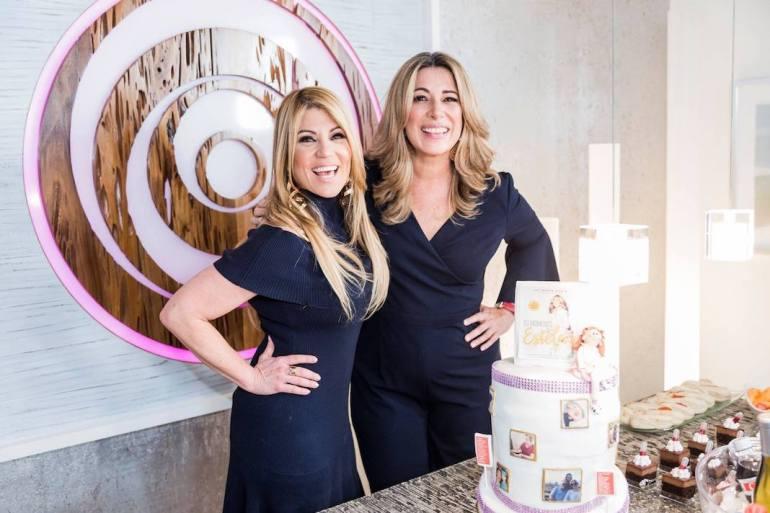 Mira el tremendo cake que le llevé a Luz María Doria