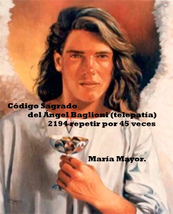 Código sagrado del Ángel Baglioni. (telepatía)