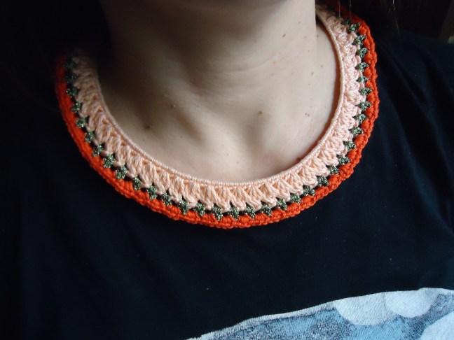 anaranjados los tonos con brillos de viscosa en verde