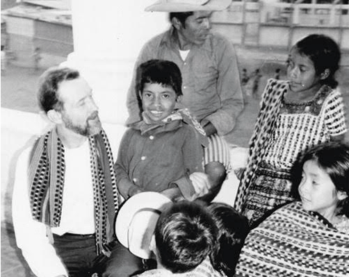 Fr. Stanley Rother with children