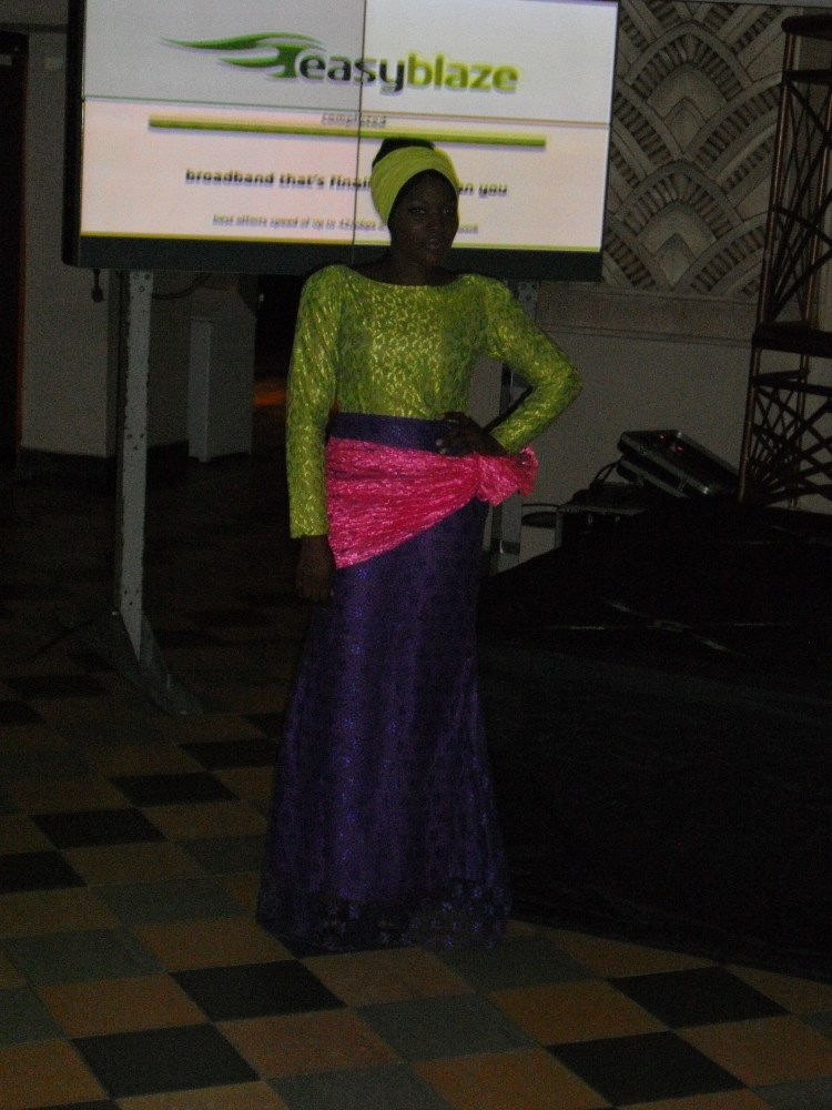 Etisalat 3G Launch - MariamMoussa Presentation (In Pictures) (2/6)