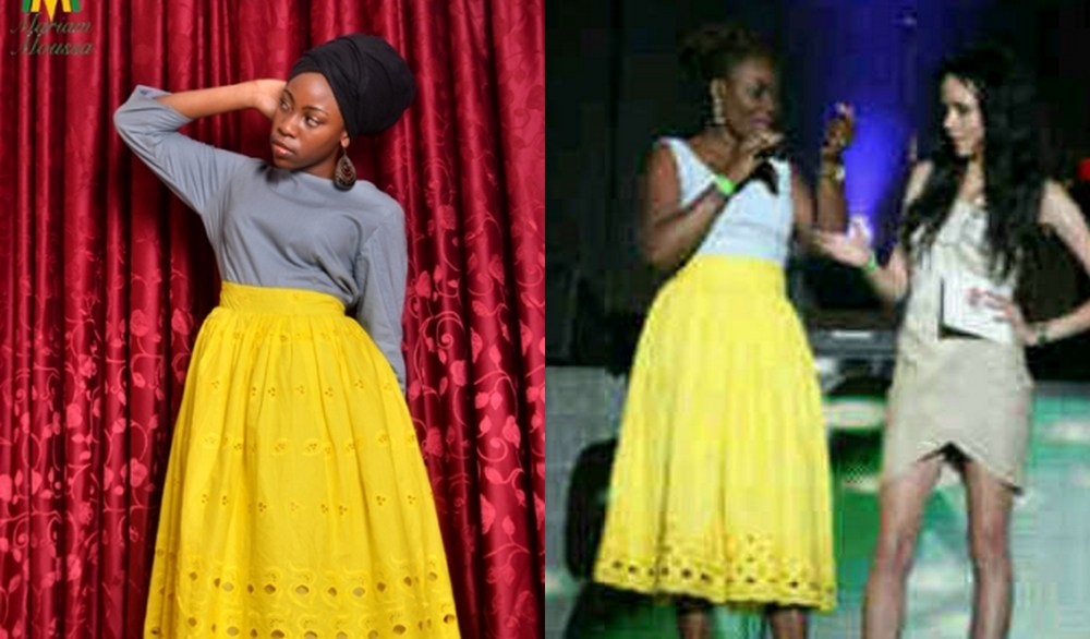SPOTTED: MariamMoussa at the Hip Hop World Awards(Headies)/Who wore it better? (1/2)