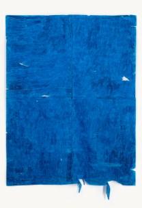 Agustina Quiles. 1.360 minutos. Óleo pastel sobre papel. 200 x 140 cm. 2015.