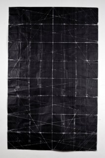 Niall McClelland. Tapestry - Beaten (2010). Tonner sobre papel.