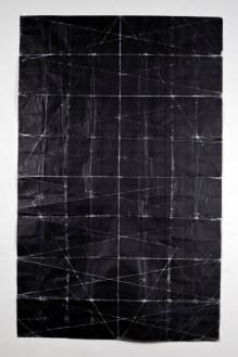 Niall McClelland. Tapestry - Beaten (2010). Tonner sobre papel.