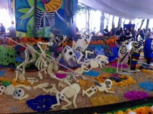 Ofrenda jardín Centenario Coyoacán