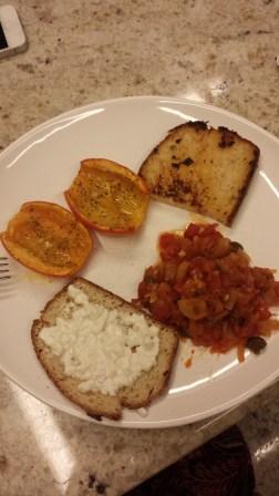 Mi primera cena