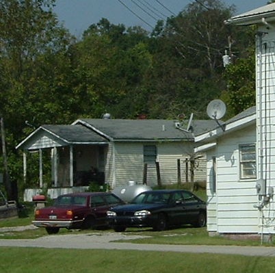 Charlie's house in Caneyville