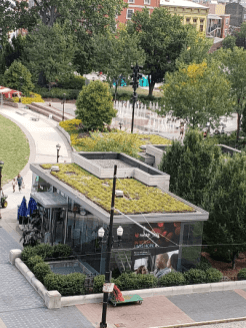 Green roof! Go, Cincy!