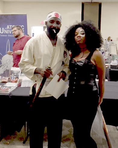 He said he was Afro-Samurai