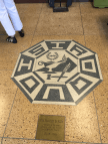 DO NOT STEP ON THE EMBLEM!! (People were stepping on the emblem.)