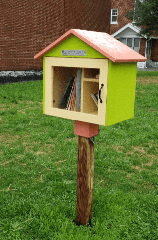 Little Free Library. I love them.