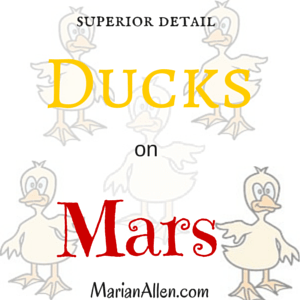 ducks on mars