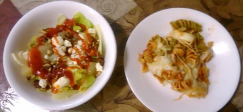 Pasta and Salad 1