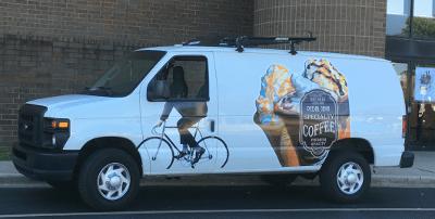 Pedal Java Coffee.